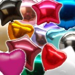 Solid Colour Shaped Foil