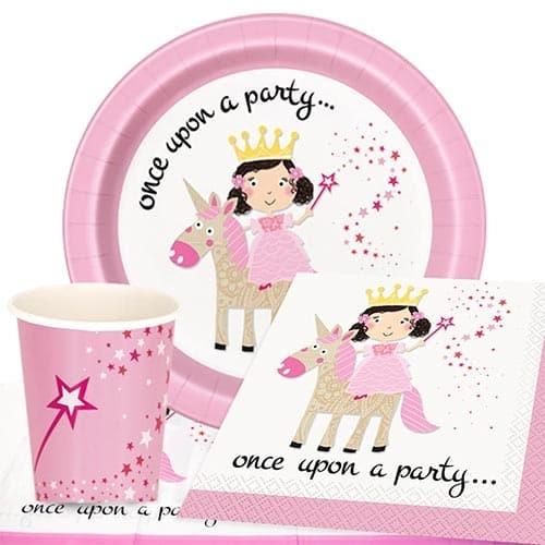 Pink Princess and Unicorn