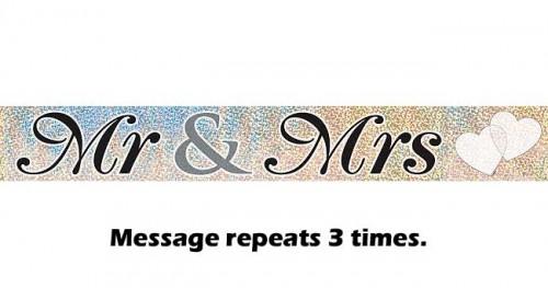 Mr. & Mrs. Prismatic Banner 12ft.
