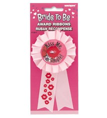 AWARD RIBBON BRIDE TO BE