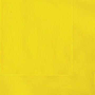Sunflower Yellow Luncheon Napkins 20 CT.