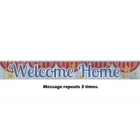 Welcome Home Prismatic Banner - 9Ft.