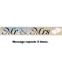 Mr. & Mrs. Prismatic Banner 12ft.