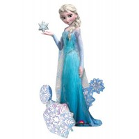 "Frozen Elsa The Snow Queen Airwalker 35"" x 57"""