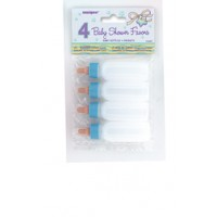 Baby Bottles Blue 4CT