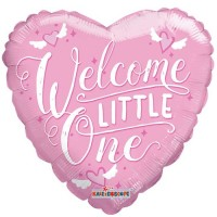 "Welcome Little One - 18"" Foil Balloon"