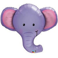 "Ellie The Elephant 39"" Shape Foil Balloon"