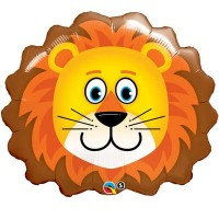 "Lovable Lion 29"" Shape Foil Balloon"