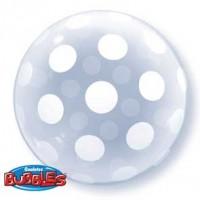 """Big Polka Dots 20"""" Deco Bubble"""