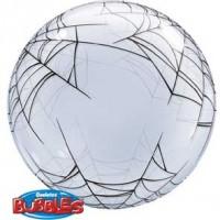 """Spider's Web 22"""" Deco Bubble"""