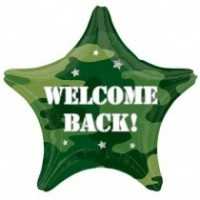 Welcome Back - 18inch Foil Balloon