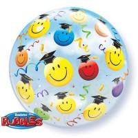 Smiley Graduate - Bubble