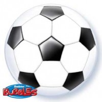 """Soccer Ball 22"""" Single Bubble"""
