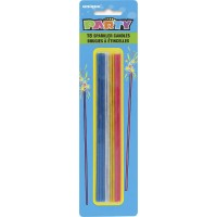 """7"""" Sparkler Birthday Candles 18CT. Pack of 12"""