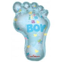 Baby Boy Footprint Shape (36inch)