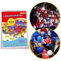 200 pce Balloon Drop Net