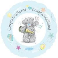 """Congratulations - Me To You 18"""" Foil Balloon"""