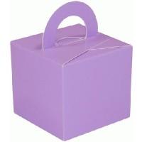 Balloon/Gift Box Lavender x 10pcs