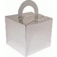 Balloon/Gift Box Silver x 10pcs