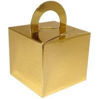 Metallic Gold Balloon Weight / Gift Box 10CT