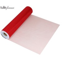 Tulle Finesse 12in x 25yards Red