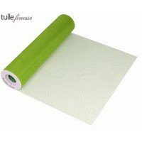 Tulle Finesse 12in x 25yards Lime Green