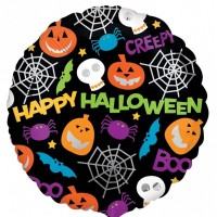 "Playful Halloween Icons 18"" Foil Balloon"