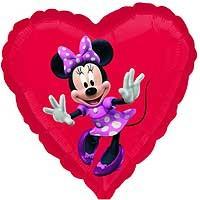 "Minnie Mouse Street Treat - 18"" foil balloon"