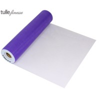 Tulle Finesse 12in x 25yards Purple