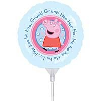 "Peppa Pig 9"" - Inflated With Cup & Stick"