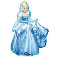 "Disney Princess Cinderella  Airwalker 30"" x 48"""
