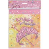 Princess Party Loot Bags 8CT