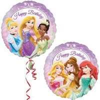 "Disney Princess Happy Birthday 18"" Foil Balloon"
