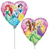 "Disney Princess Garden 9"" - Inflated With Cup & Stick"