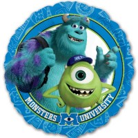 "Monsters University 18"" Foil Balloon"