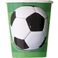 3-D Soccer 9 OZ. Cups 8 CT.