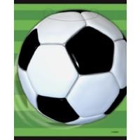 3-D Soccer Loot Bags 8 CT.
