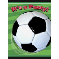 3-D Soccer Invitations 8 CT.