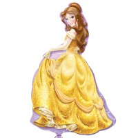 "Disney Princess Belle Shape 24"" x 39"""