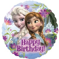 "Frozen Happy Birthday 18"" Foil Balloon"