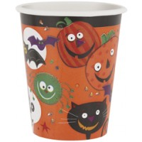 Spooky Smiles 9oz Cups 8ct