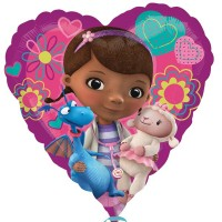"Doc McStuffins Love 18"" Foil Balloon"