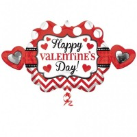 Happy Valentine's Day  39inch Foil Balloon