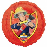 "Fireman Sam 18"" Foil Balloon"