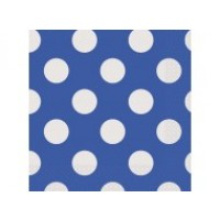 Royal Blue. Dots Luncheon Napkins 16 CT.