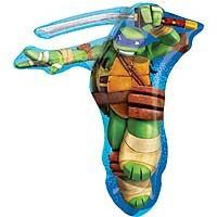Teenage Mutant Ninja Turtles Leonardo Street Street Shape - Large Helium Foil Balloon