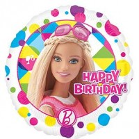 "Barbie Sparkle Happy Birthday - 18"" Foil Balloon"