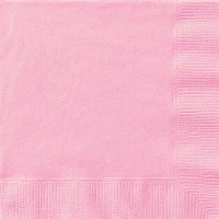 Lovely Pink Luncheon Napkins 20 CT.