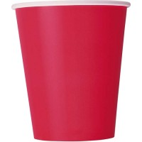 Ruby Red 9 OZ. Cups 14CT.