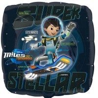 "Miles From Tomorrowland 18"" Foil Balloon"